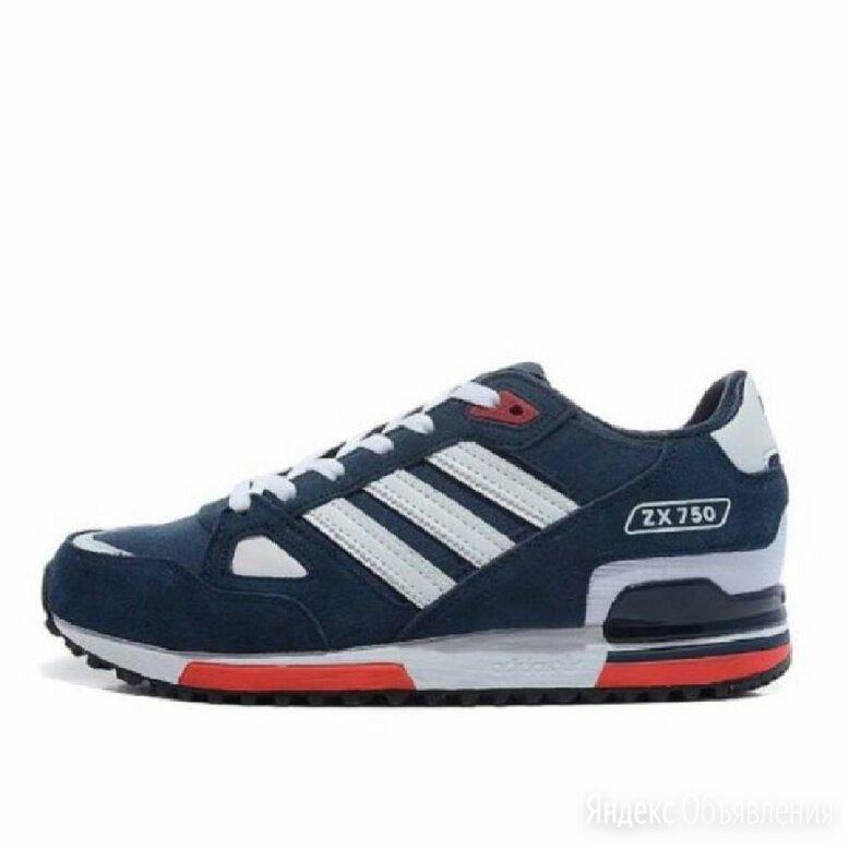 Кроссовки Adidas ZX-750 синие. Лето. по цене 5500₽ - Кроссовки и кеды, фото 0