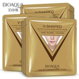 Маски - Подтягивающая тканевая маска для лица V-Shaped Bioaqua BQY2447, 0