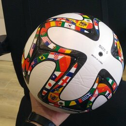 Мячи - Футбольный мяч. Яркий дизайн, 0