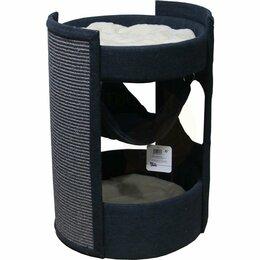 Туалеты и аксессуары  - Когтеточка-комплекс 40х40х60 см, графит Pet…, 0