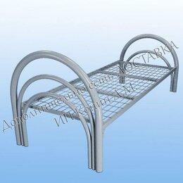 Кровати - Кровать металлическая одноярусная, 0