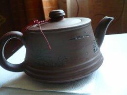 Заварочные чайники - Глиняный японский чайник для заваривания чая 400мл, 0