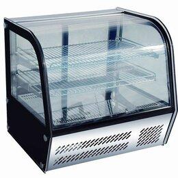 Мебель для учреждений - Витрина холодильная настольная HTR-120, 115 л, (+3..+8C) 695x580x670 мм, Viatto , 0