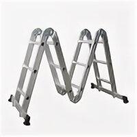 Наборы электроинструмента - Бибер 98301 Лестница-трансформер 4-х секционная…, 0