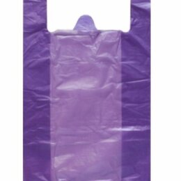 Упаковочные материалы - Пакет майка ПНД 24+12*44/12 мкм (200 шт в упак.), 0