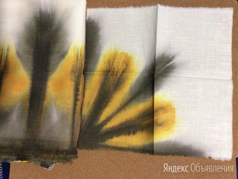 Скатерть льняная  и 12 салфеток авторская по цене 1500₽ - Скатерти и салфетки, фото 0