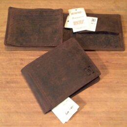 Кошельки - Новый бумажник, с биркой, натуральная кожа., 0