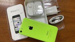 Мобильные телефоны - Apple iPhone 5C 32Gb green как новый, 0