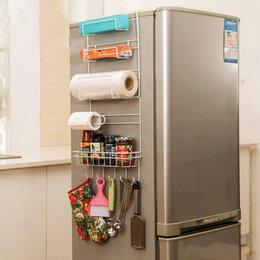 Органайзеры и кофры - Полезный органайзер на боковую сторону холодильника , 0