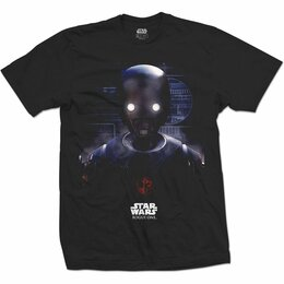 Футболки и майки - Футболка Star Wars - Rogue One: K-2SO Prime…, 0