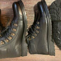 Ботинки - Мужские ботинки из натуральной кожи.Утепленные., 0