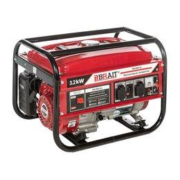 Электрогенераторы - Генератор бензиновый Brait BR 3800-AL, 0