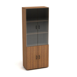 Шкафы, стенки, гарнитуры - Шкаф закрытый стеклянные двери Канц, 0