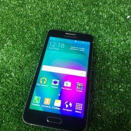 Мобильные телефоны - Смартфон samsung Galaxy A3 16Gb, SM-A300F, черный, 0