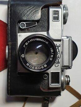 Пленочные фотоаппараты - Фотоаппарат «Киев» с объективом Гелиос 103, 0
