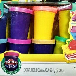 Лепка - Набор пластилина из 8 цветов Play-Toy, 0