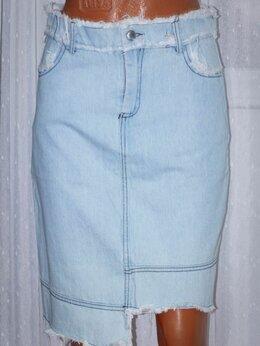 Юбки - Новая джинсовая юбка рр 44+-, 0