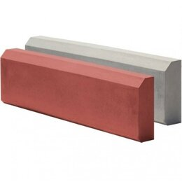 Тротуарная плитка, бордюр - Бордюр 500*210*70 серый, 0