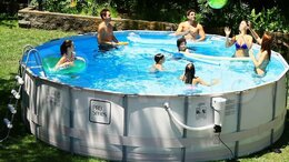 Бассейны - Каркасный бассейн каркасный бассейн новый, 0