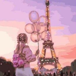 Раскраски и роспись - Картина по номерам на холсте-вечер в Париже, 0