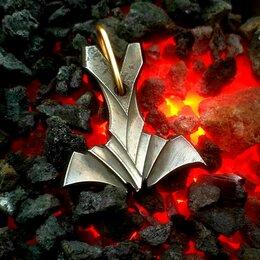 Кулоны и подвески - Мьёльнир «Муспельхейм» Молот Тора. Кованая сталь. Ручная ковка, 0