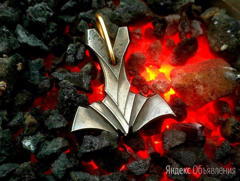 Мьёльнир «Муспельхейм» Молот Тора. Кованая сталь. Ручная ковка по цене 2500₽ - Кулоны и подвески, фото 0