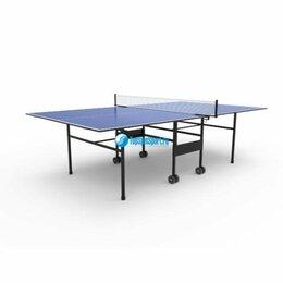 Столы - Всепогодный теннисный стол для дачи TopSpinSport уличный, 0