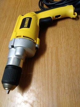 Дрели и строительные миксеры - Электрическая дрель Dewalt DW221, 0