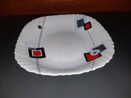 Тарелки - Тарелка ударопрочная. Модерн. ОАЭ. 20 век.…, 0