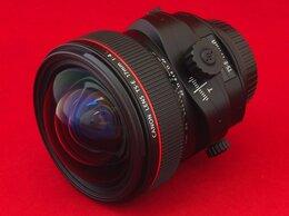 Объективы - Canon TS-E 17mm f/4L (гарантия, чек), 0