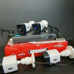 Камеры видеонаблюдения - Видеонаблюдение.Комплект на 4камеры atis, 0
