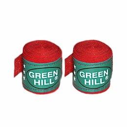 Аксессуары и принадлежности - Бинт боксерский Green Hill BC-6235c 3,5м красный, 0