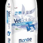 Корма  - Monge VetSolution Dog Dermatosis диета для собак Дерматозис 12 кг, 0