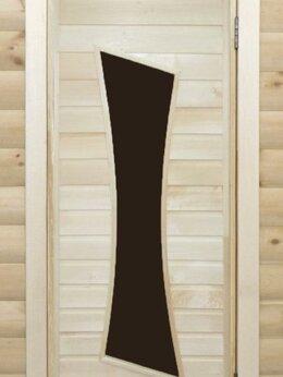 Двери - Банная дверь липа остекленная ПО-11, 0