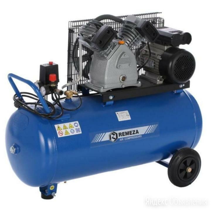 Компрессор поршневой 420 л/мин, 220 В, Ремеза СБ4С-100 LB30 A по цене 44161₽ - Воздушные компрессоры, фото 0