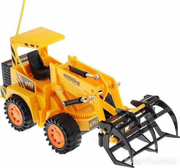Строительный погрузчик на радиоуправлении фирмы «Fun Toy». по цене 1000₽ - Радиоуправляемые игрушки, фото 0