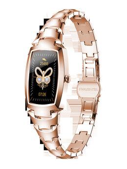 Умные часы и браслеты - Смарт часы женские Lemfo h8 pro, 0