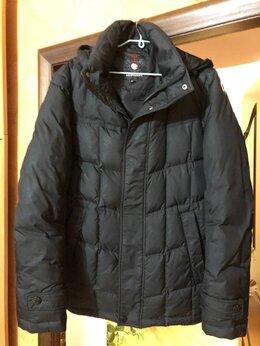 Куртки - Мужская зимняя куртка чёрная 48 (М), 0