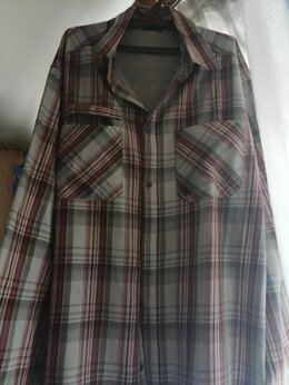 Рубашки -  Утепленная рубашка на флисовой подкладке…, 0
