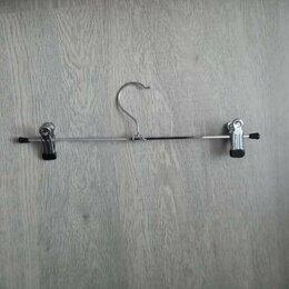 Вешалки-плечики - Плечики для брюк с зажимами (300 мм) 34 штуки, 0