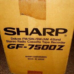 Музыкальные центры,  магнитофоны, магнитолы - Sharp GF-7500Z, 0
