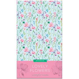 "Электронные книги - Телефонная книга А5, 80л., 7БЦ, OfficeSpace ""Цветы. Lovely flowers"", выборочн..., 0"