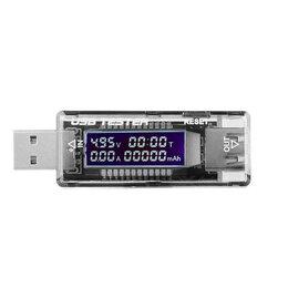 Зарядные устройства и адаптеры - Тестер USB-зарядки KWS -V21, 0