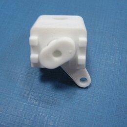 Карнизы и аксессуары для штор - 1шт Суппорт пластмассовый для профильных карнизов белый sprt1, 0