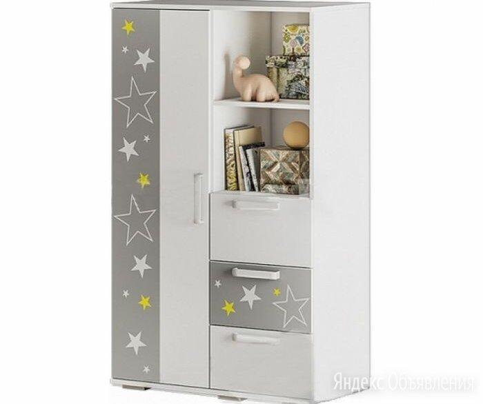 Шкаф Звездное детство ШК-10 по цене 7360₽ - Шкафы, стенки, гарнитуры, фото 0