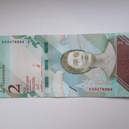 Банкноты - Венесуэла 2 боливара 2018, 0