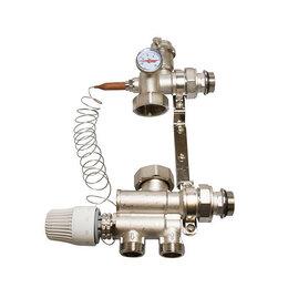 Комплектующие для радиаторов и теплых полов - Смесительный узел без насоса, 0