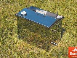 Грили, мангалы, коптильни - Коптильня горячего копчения с термометром, 0