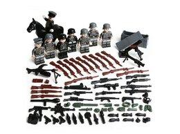Конструкторы - Лего набор немецкие солдаты, 0