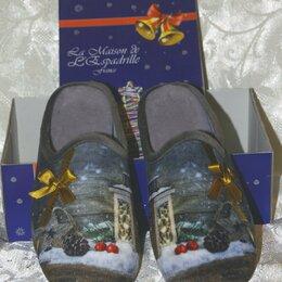 Домашняя обувь - Новые тапочки la maison de lespadrille 39 размер, 0